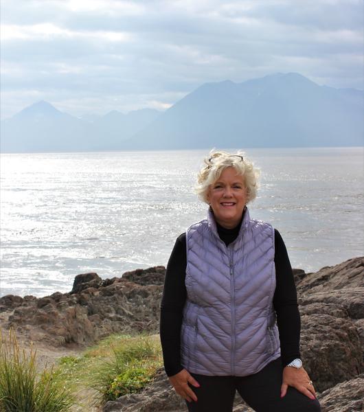 Deb at Beluga Bay