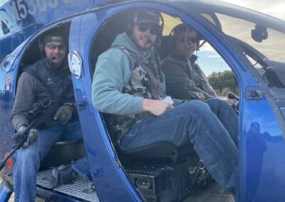 Texas helicopter hog hunting