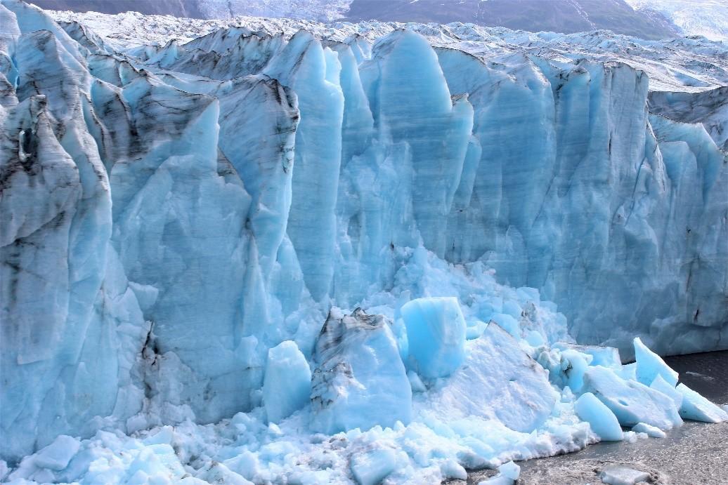 Glacier Mountains In Seward