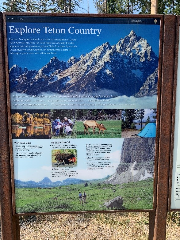 Explore Teton Country Banner