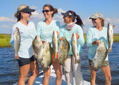 Angler Girls in Crystal River Florida