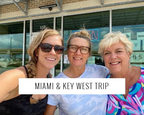 MIAMI & KEY WEST GIRLS ADVENTURE TRIP