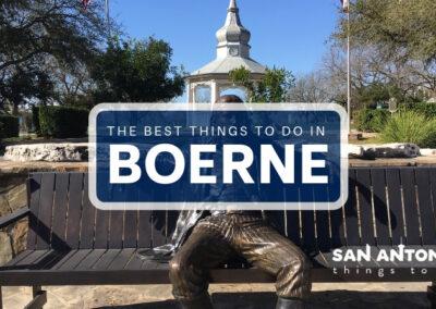 Boerne downtown