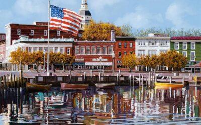 A Charming City on the Chesapeake Bay-Annapolis, MD Christmas Spirit Trip