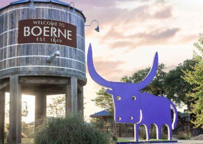 Boerne water tower