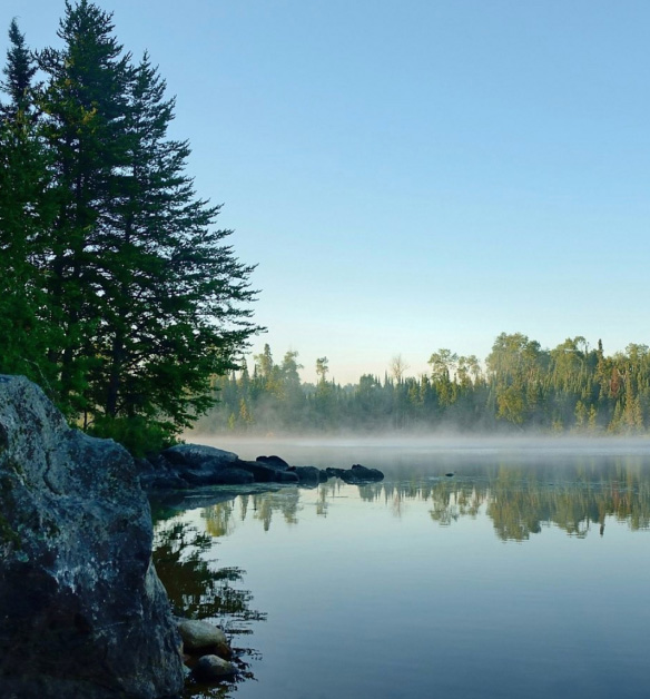 Ely, MN and the Superior National Forest.  Ride Prospector Trail in Style