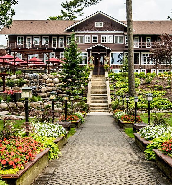 Northwoods Lodge event